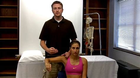 shoulder horizontal abduction and adduction - YouTube