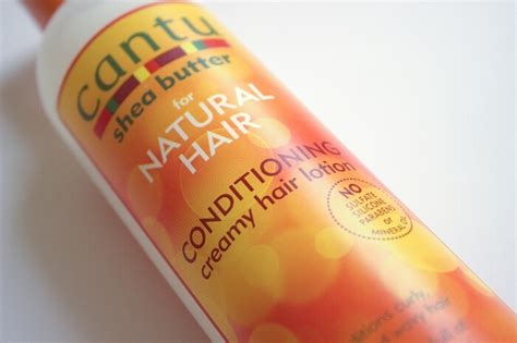 Cantu Shea Butter Conditioning Creamy Hair Lotion Review
