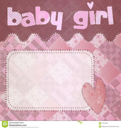 Baby Girl Shower Newborn Royalty Free Stock Images - Image