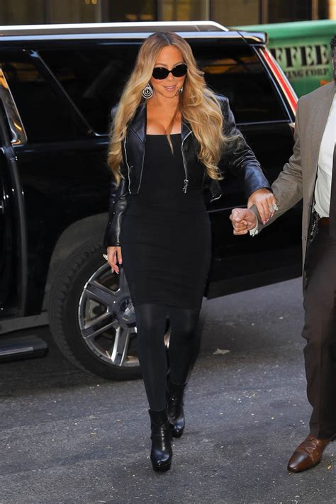 Mariah Carey is feeling herself as she promotes new album