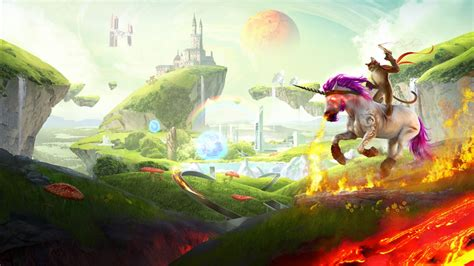 Trials Fusion Unicorn Cat Wallpapers | HD Wallpapers | ID