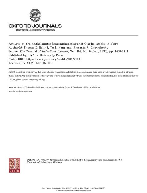 (PDF) Activity of the Anthelmintic Benzimidazoles against