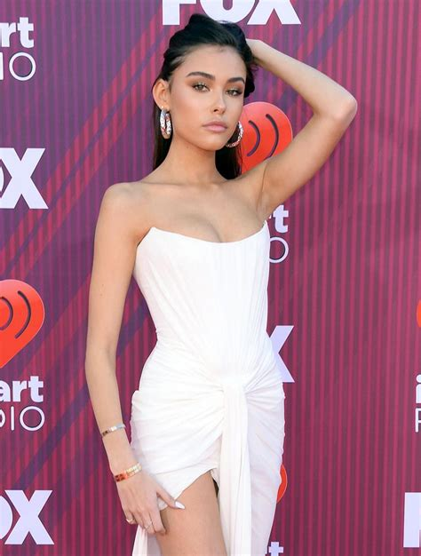 Madison Beer Uirt at iHeartRadio Music Awards - Scandal