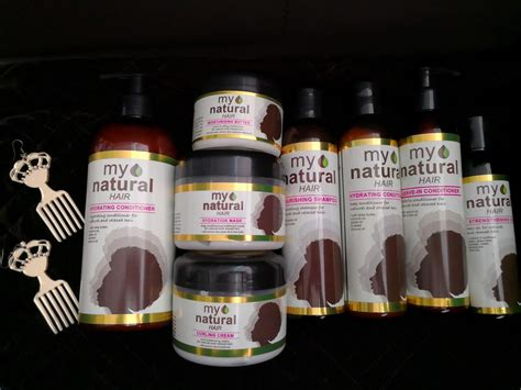 Let Your Hair Speak with My Natural Hair Care Range