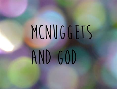 McNuggets and God | Facebook